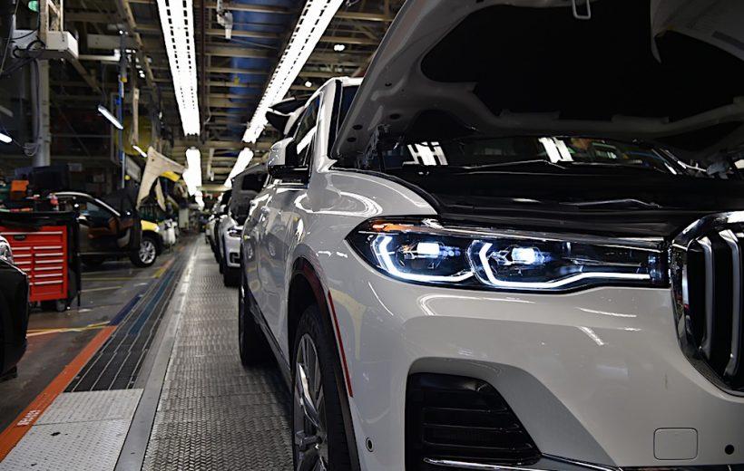 BMW X7 đã chính thức được sản xuất thử nghiệm