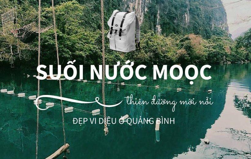 Suối Nước Moọc đẹp như tiên cảnh ở Quảng Bình