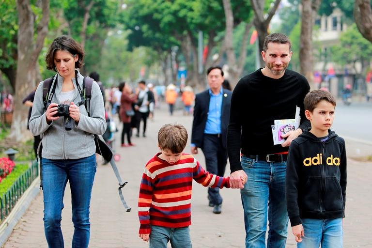 715.566 lượt khách đến Hà Nội dịp Noel và Tết Dương lịch