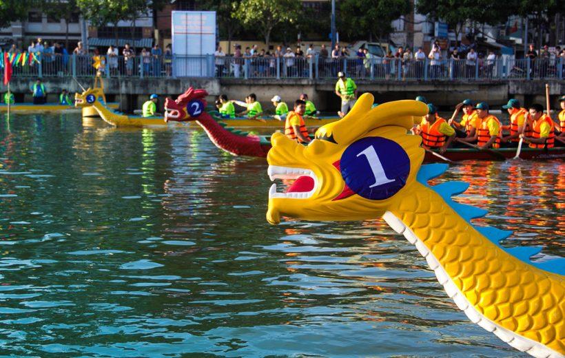 Đua thuyền Xuân Mậu Tuất trên kênh Nhiêu Lộc – Thị Nghè