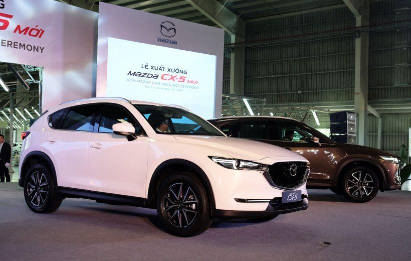 Mazda CX-5 2018 tăng 20 triệu đồng tại Việt Nam