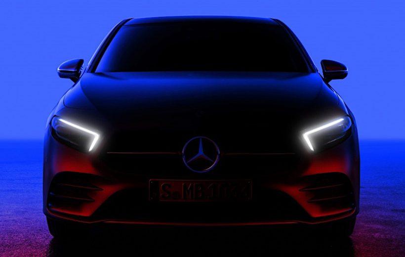 Mercedes-Benz A-Class 2018 chuẩn bị được ra mắt