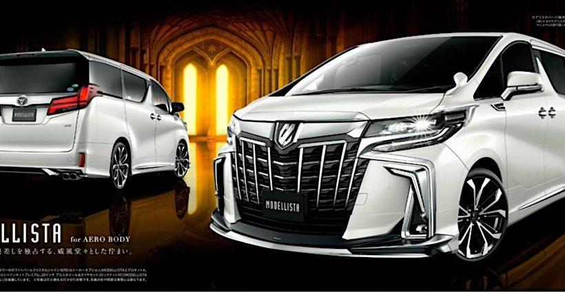 Toyota ra mắt gói nâng cấp cho 2 mẫu xe Alphard và Vellfire