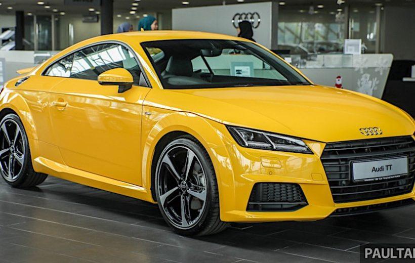Audi TT phiên bản đặc biệt có giá bán 77.858 USD tại Malaysia
