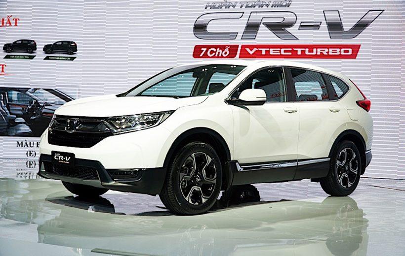 Honda CR-V bán ra kèm gói phụ kiện lên đến 40 triệu đồng