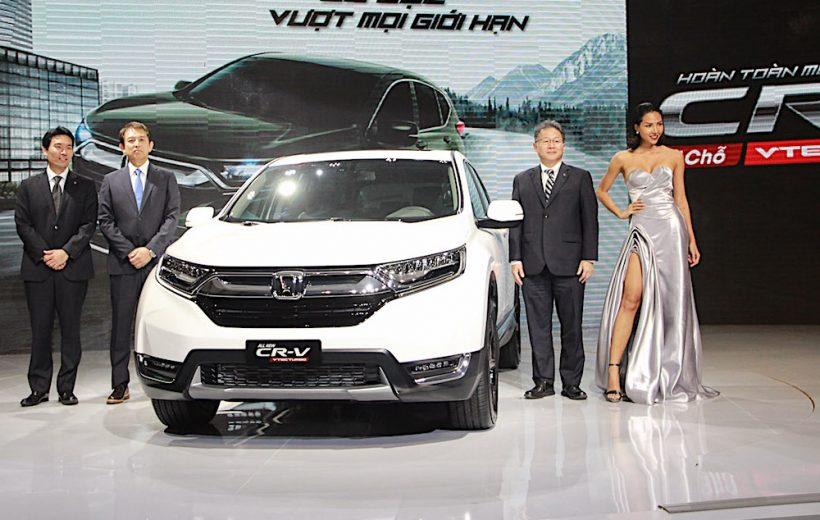 Honda CR-V 2018 có giá bán từ 1,136 tỷ đồng tại Việt Nam