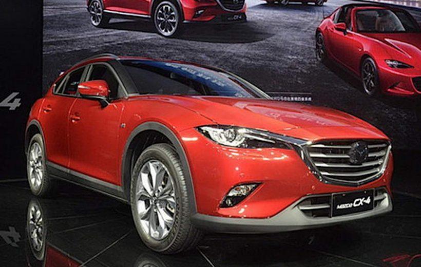 Mazda CX-4 chính thức lộ diện