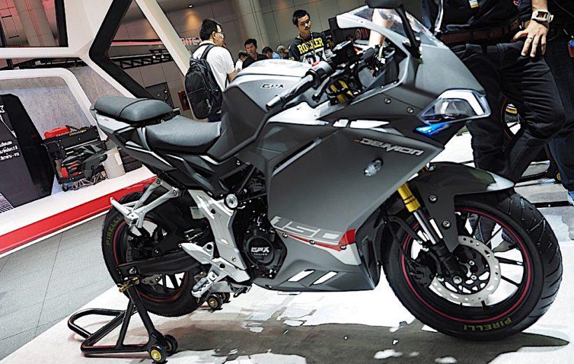 GPX Demon 150GR có mặt tại Việt Nam với giá bán từ 70 triệu đồng