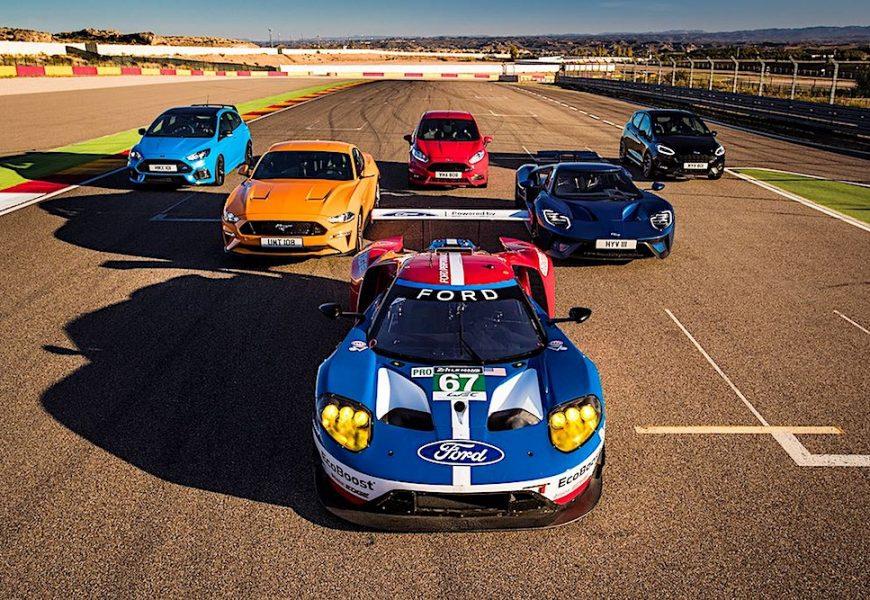 8 mẫu xe của Ford Performance đồng loạt tranh tài