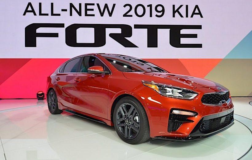Kia Forte 2019 chính thức lộ diện