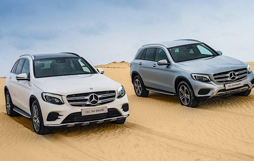 Mercedes-Benz GLC đạt doanh số 2.500 xe tại Việt Nam năm 2017