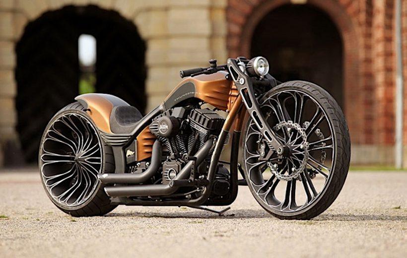 Harley Davidson lột xác hoàn toàn với bản độ Thunderbike Production-R.