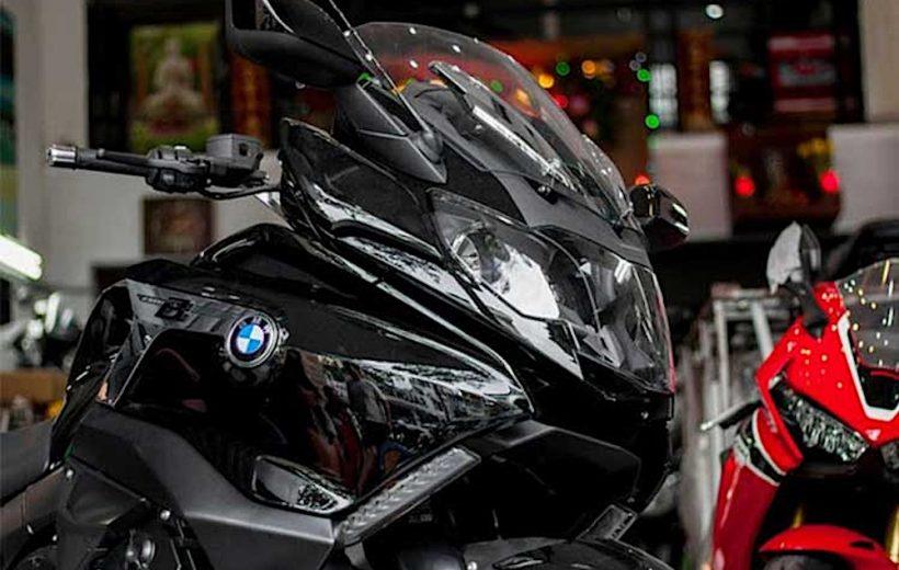 Cận cảnh BMW K1600B 2018 đầu tiên tại Việt Nam
