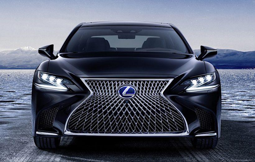 Lexus LS 2018 được bán ra với giá từ 4,5 tỷ đồng
