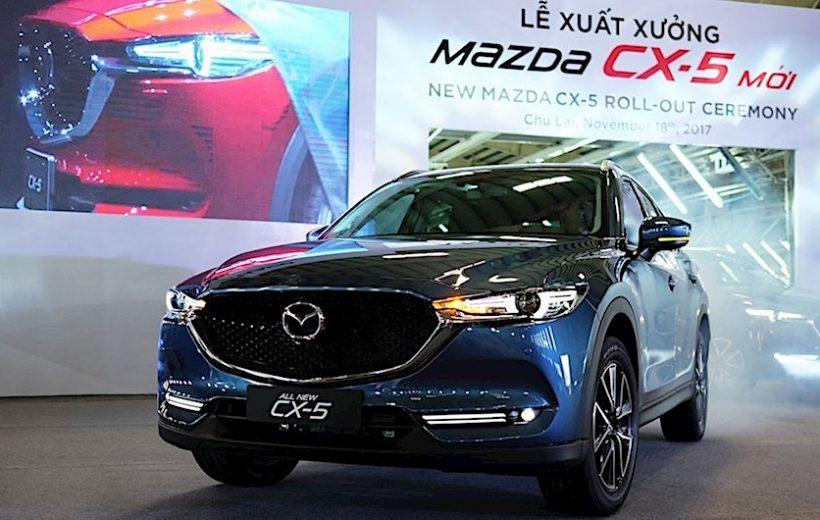 Giá bán lẻ của các mẫu xe Mazda tăng 10 triệu đồng trong năm 2018