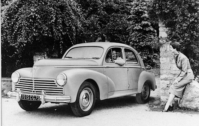 Xế cổ hàng hiếm- Peugeot 203 Convertible