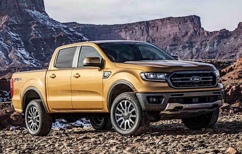 Ford Ranger 2019 chính thức lộ diện