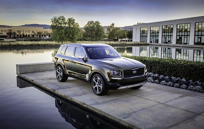 Kia Telluride chính thức ra mắt tại Detroit Auto Show 2018