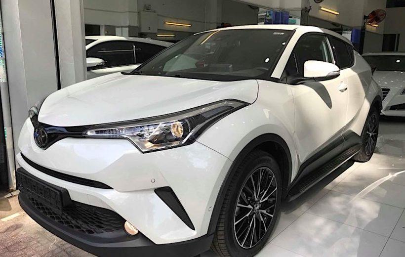Toyota C-HR có mặt tại Việt Nam với giá bán 1,8 tỷ đồng