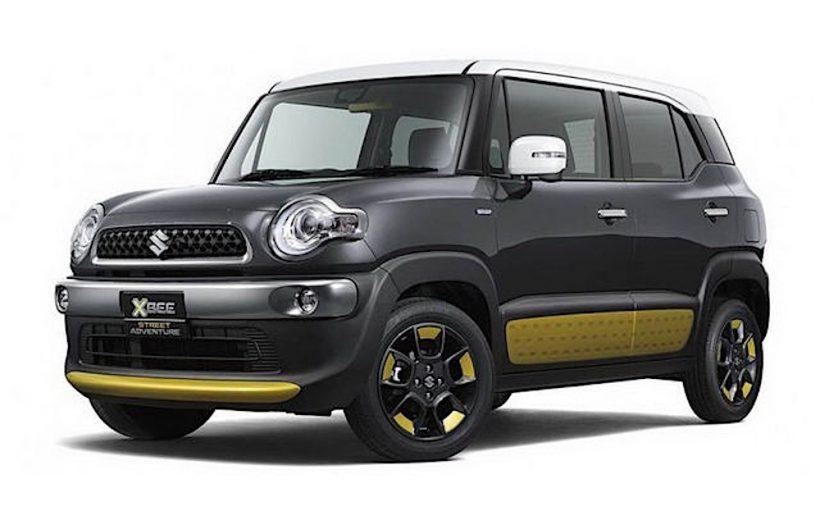 Suzuki X-Bee- Crossover có giá rẻ chỉ từ 355 triệu đồng