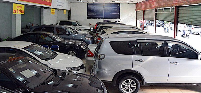 Xe cũ bất ngờ tăng giá cuối năm