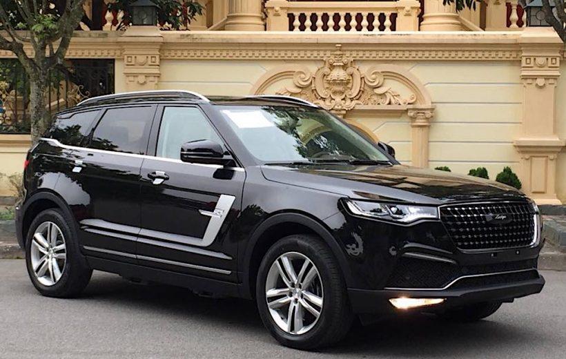 """Zoyte Z8- SUV có ngoại hình """"nhái"""" Land Rover tại Việt Nam"""