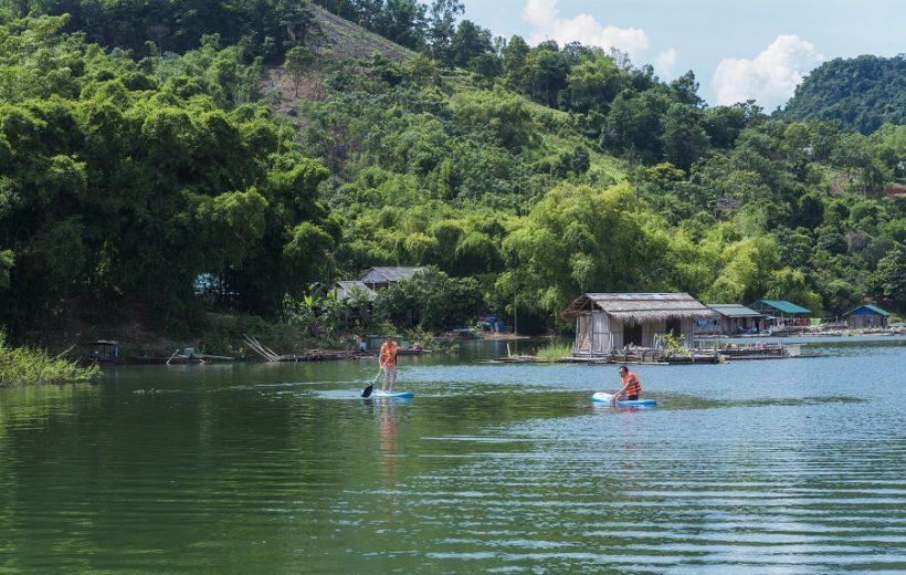 Đặc sắc tour hồ Hòa Bình – đền chúa Thác Bờ – bản Ngòi
