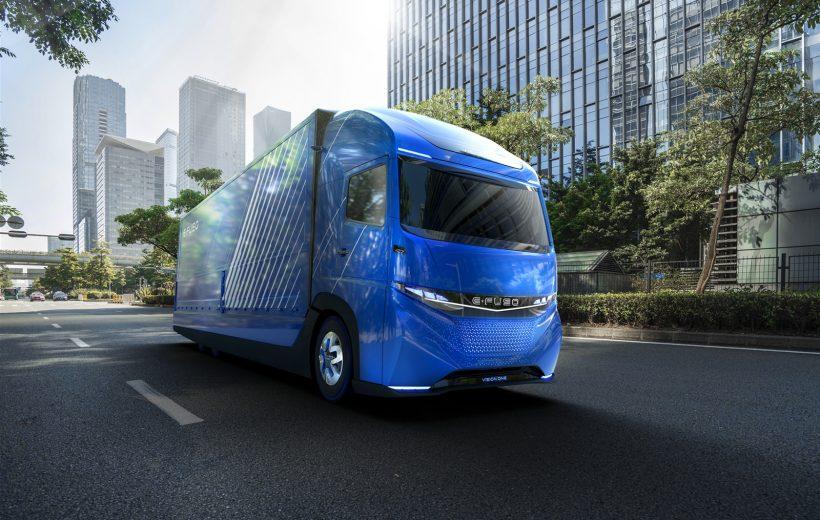 Top 8 mẫu xe tải tương lai-Cuộc cạnh tranh của các ông lớn