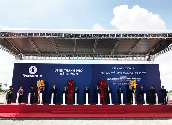 VINFAST và hành trình tạo lập thương hiệu ô tô Việt