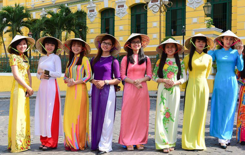 Lễ hội tôn vinh áo dài diễn ra từ ngày 3 – 25/3 tại TP. Hồ Chí Minh