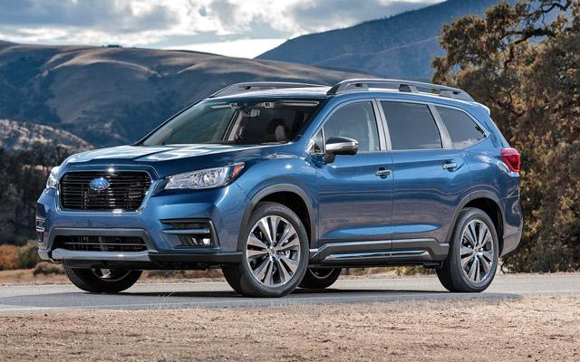 Subaru Ascent 2019 có giá từ 748 triệu đồng tại Mỹ