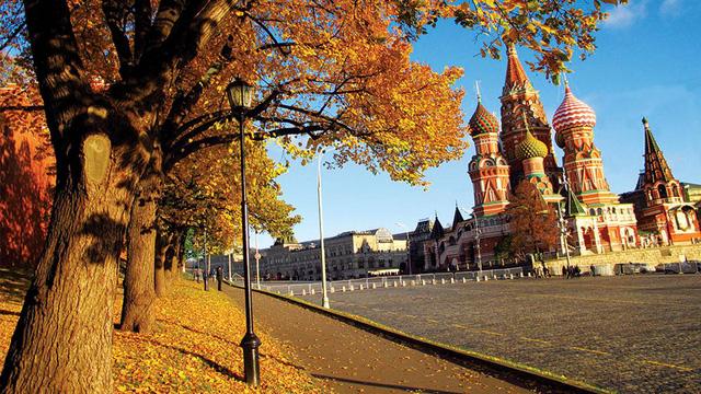 Khám phá mùa thu vàng nước Nga tuyệt đẹp