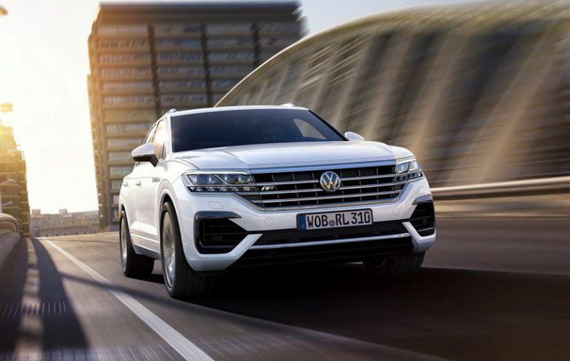 VW Touareg 2019 to nhưng nhẹ hơn