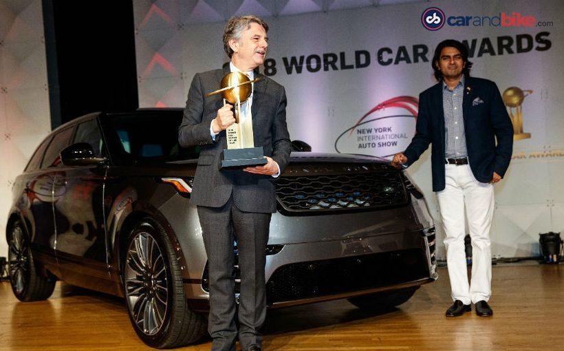 Range Rover Velar đạt giải World Car Design of the Year 2018