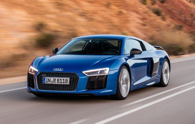 Audi giới thiệu R8 V10 phiên bản giá rẻ