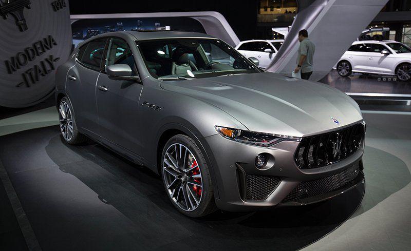 Maserati 2019 Levante Trofeo xuất hiện
