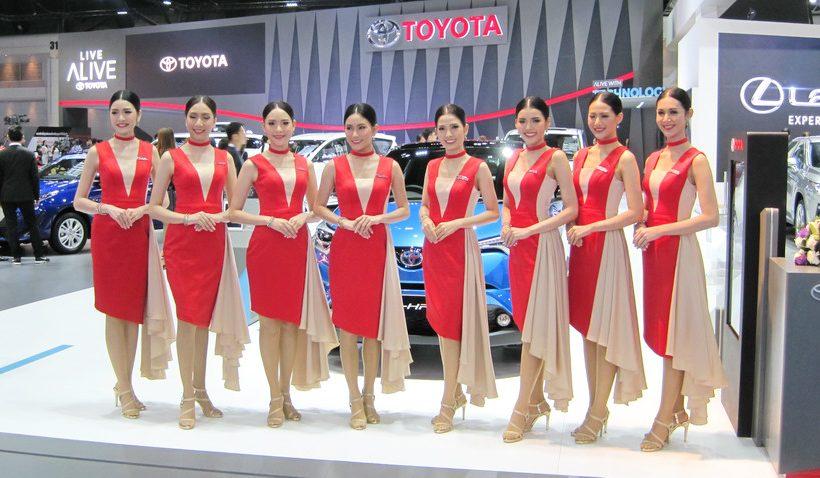 42.500 xe được bán ra tại triển lãm Bangkok 2018