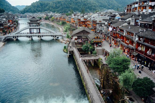 Phượng Hoàng Cổ Trấn, Hồ Nam Trung Quốc Tuyệt Đẹp