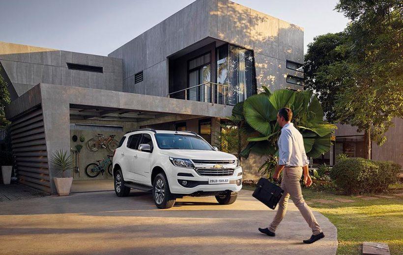 Chevrolet Trailblazer công bố giá chính thức hôm nay