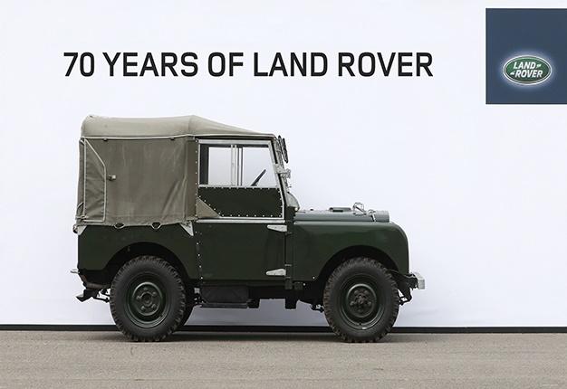 Land Rover kỷ niệm 70 năm thành lập