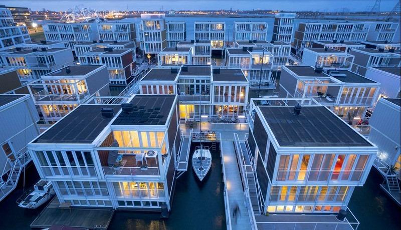 Quận nhà nổi ở Amsterdam
