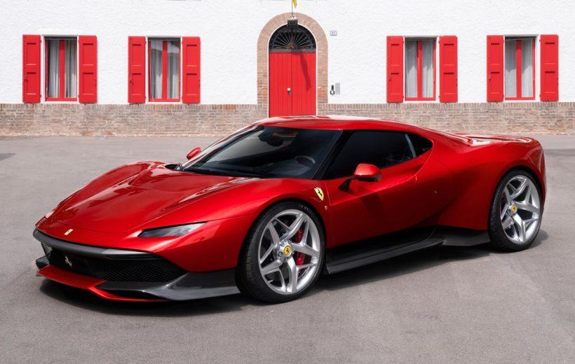 Ferrari SP38 độc nhất vô nhị