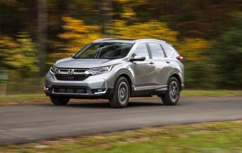 Honda CR-V 2018 cho thị trường châu Âu