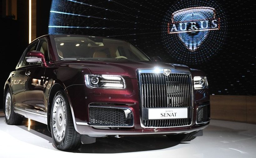 Aurus Senat – sedan siêu sang Nga
