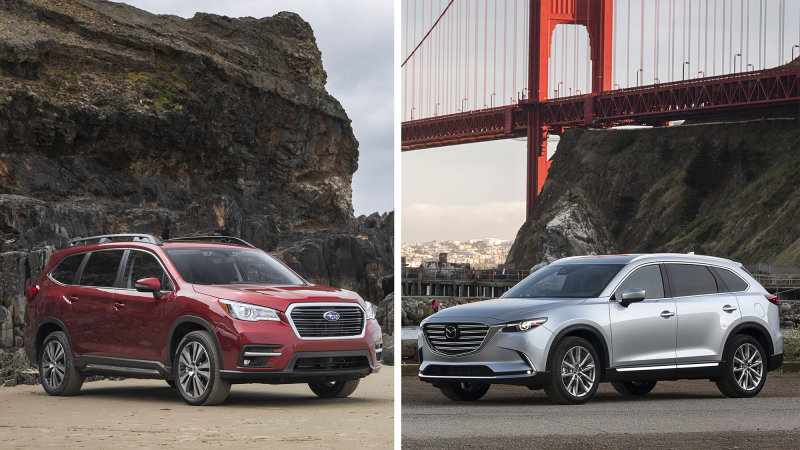 SO SÁNH MAZDA CX-9 2018 VÀ SUBARU ASCENT 2019