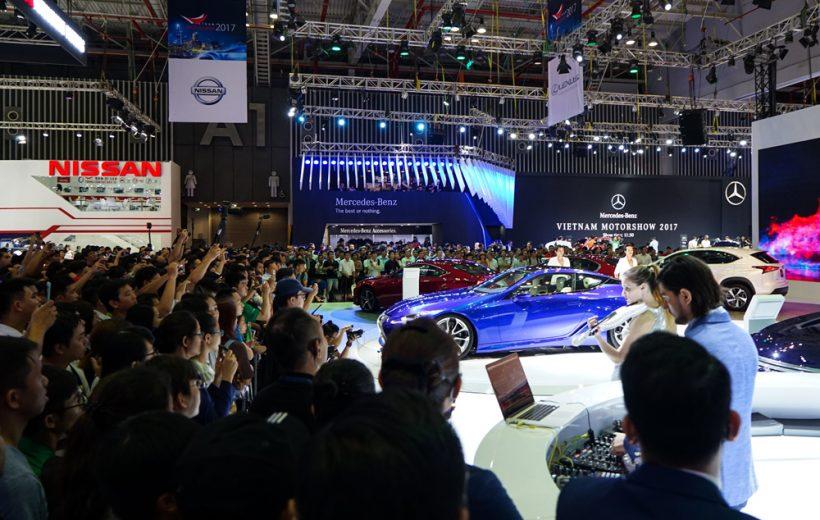 Lamborghini, Bentley và Aston Martin không góp mặt VMS 2018