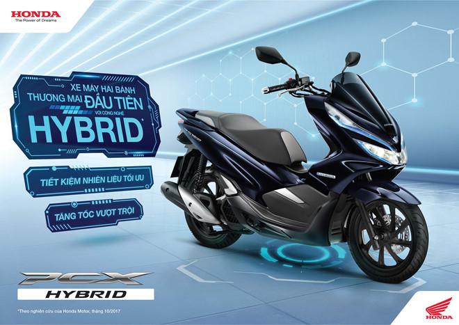 Honda PCX hybrid có mặt tại Việt Nam, giá từ 89,9 triệu đồng