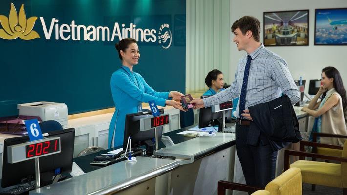 Hàng không Việt Nam lần đầu áp dụng check-in trong thành phố