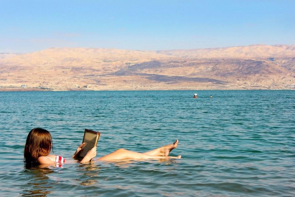 Biển chết... nơi con người không thể chìm được