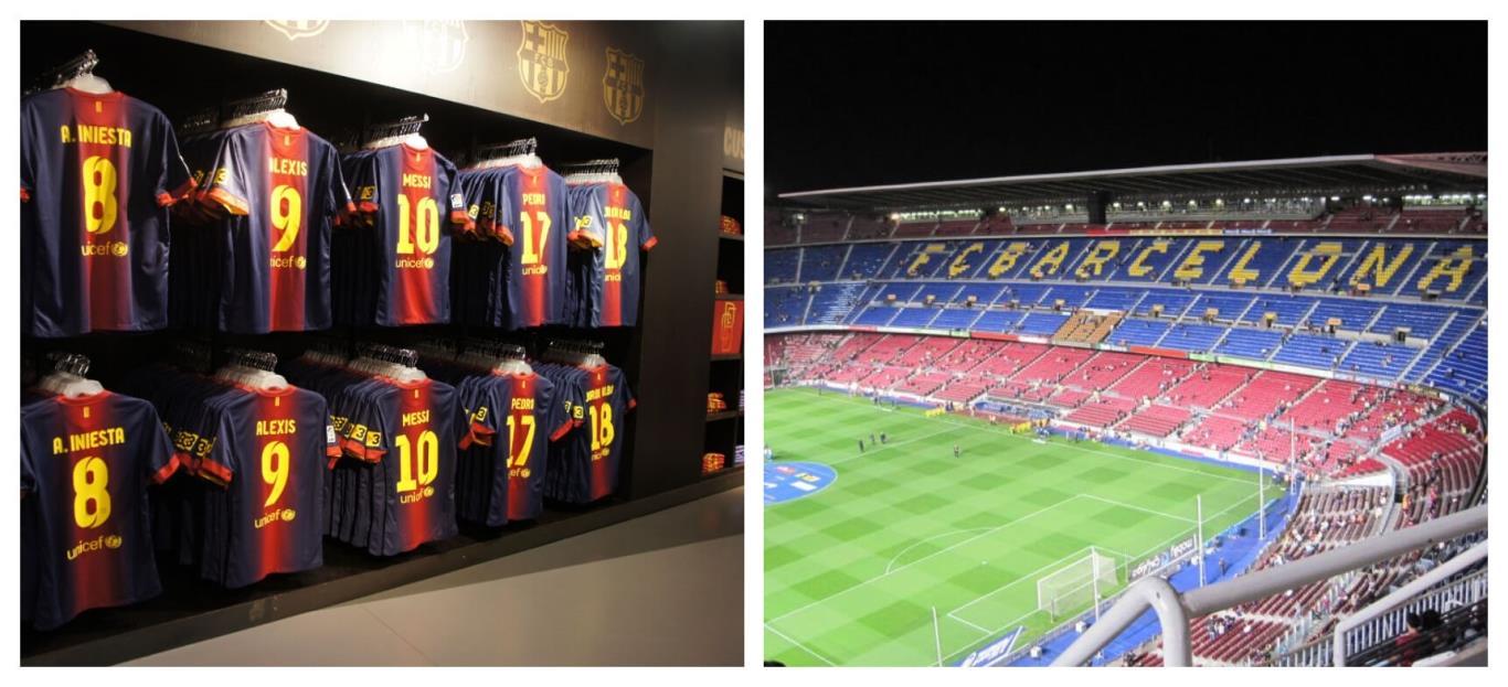 Bảo tàng FC Barcelona và Sân vận động Camp Nou